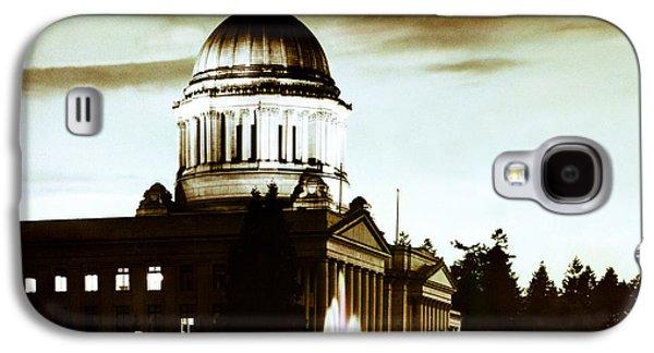 Washington State Capitol Campus And Tivoli Fountain Galaxy S4 Case