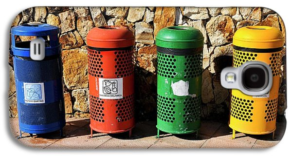 Waste Separation And Recycling Bins Galaxy S4 Case by Photostock-israel