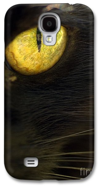 Watching You Galaxy S4 Case by Anne Gilbert