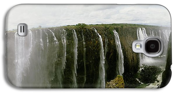 Water Falling Into A River, Victoria Galaxy S4 Case by Panoramic Images