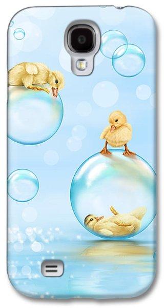 Water Games Galaxy S4 Case by Veronica Minozzi