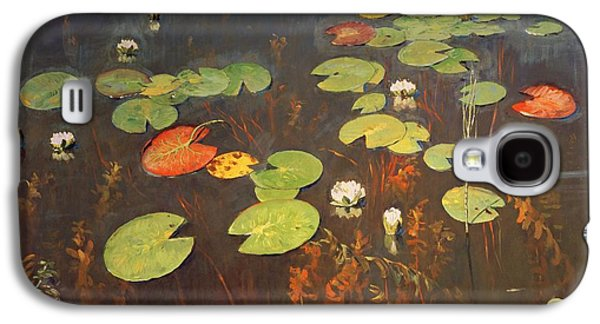 Water Lilies Galaxy S4 Case by Isaak Ilyich Levitan