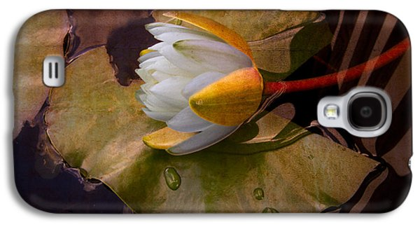 Water Lily Galaxy S4 Case by Debra and Dave Vanderlaan