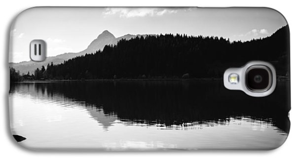 Water Reflection Black And White Galaxy S4 Case