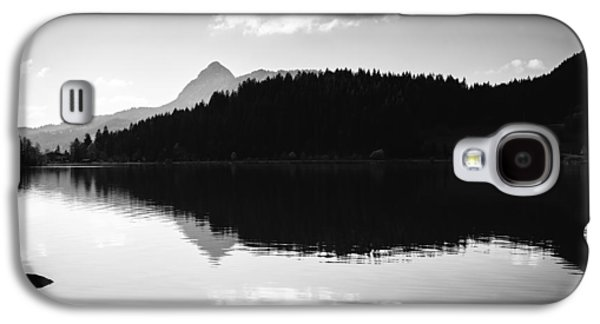 Water Reflection Black And White Galaxy S4 Case by Matthias Hauser