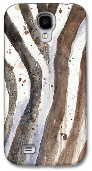 Watercolor Animal Skin II Galaxy S4 Case by Patricia Pinto