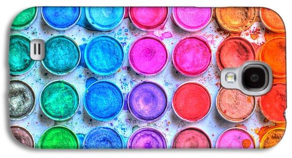 Colorful Galaxy S4 Case - Watercolor by Heidi Smith