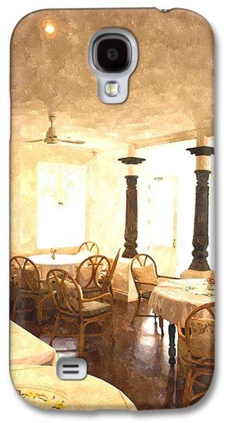 Watercolor Of Cozy Dining Room Galaxy S4 Case by Ammar Mas-oo-di