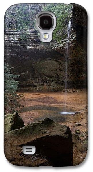 Waterfall At Ash Cave Galaxy S4 Case
