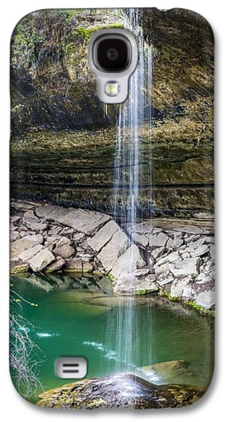 Waterfall At Hamilton Pool Galaxy S4 Case by David Morefield