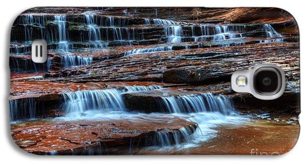 Waterfall Cascade North Creek Galaxy S4 Case