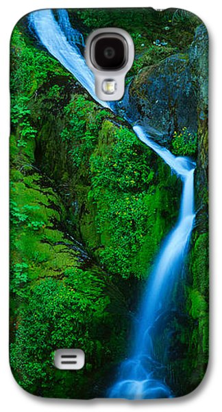 Waterfall In A Forest, Sullivan Falls Galaxy S4 Case by Panoramic Images
