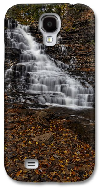 Waterfall In The Autumnal Equinox Galaxy S4 Case by Susan Candelario