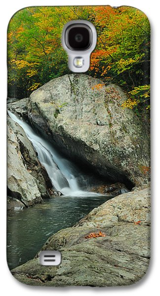 Waterfall In West Fork Of Pigeon River Galaxy S4 Case