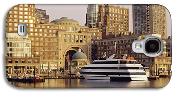 Waterfront, Boston, Massachusetts, Usa Galaxy S4 Case by Panoramic Images