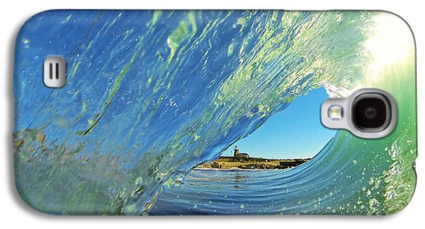 Wave And Lighthouse 2 Galaxy S4 Case by Paul Topp