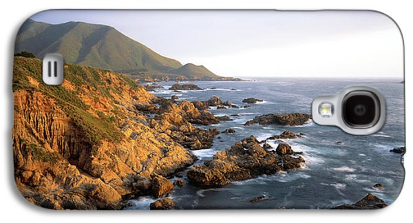 Waves Breaking On Garrapata Beach Galaxy S4 Case by Panoramic Images