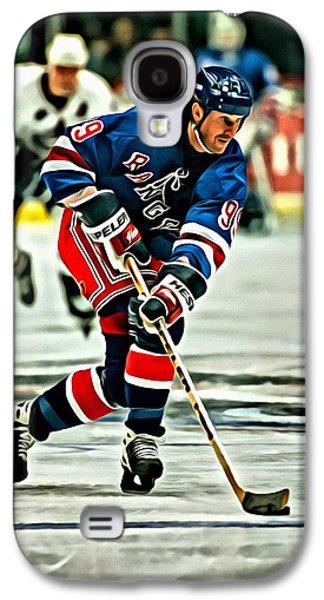 Wayne Gretzky Skating Galaxy S4 Case