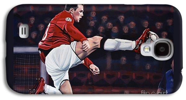 Wayne Rooney Galaxy S4 Case by Paul Meijering