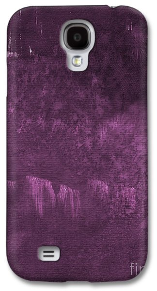Orchid Galaxy S4 Case - We Are Royal by Linda Woods