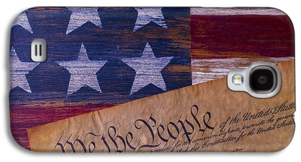 We The People Galaxy S4 Case by Garry Gay