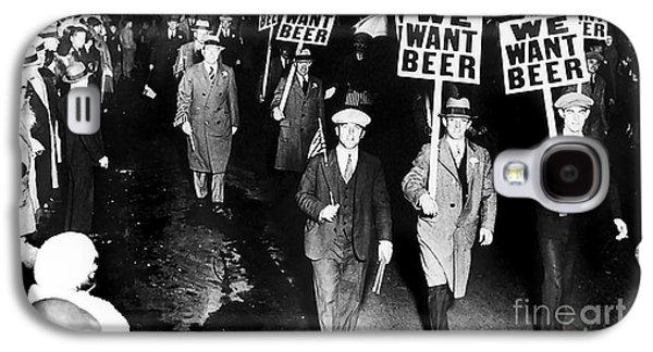We Want Beer Galaxy S4 Case by Jon Neidert
