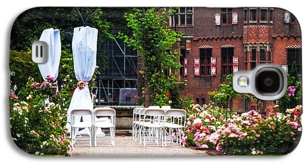Wedding Arrangement In De Haar Castle. Utrecht  Galaxy S4 Case by Jenny Rainbow