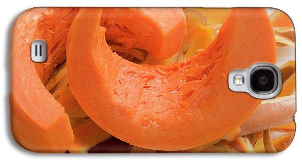 Wedges Of Pumpkin On Pumpkin Peelings Galaxy S4 Case