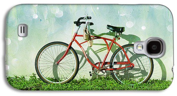 Bicycle Galaxy S4 Case - Weekender Special by Laura Fasulo