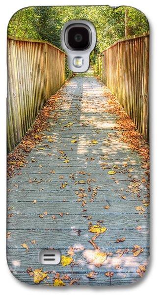 Wehr Nature Center Bridge In Autumn  Galaxy S4 Case