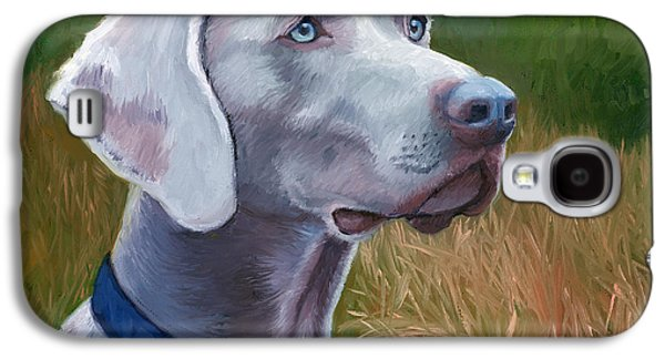 Weimaraner Dog Galaxy S4 Case