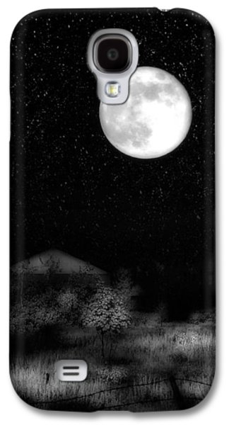 The Brilliant Full Moon Lit The Night Sky Galaxy S4 Case by Gothicrow Images