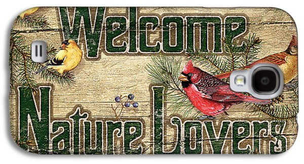 Cardinal Galaxy S4 Case - Welcome Nature Lovers by JQ Licensing
