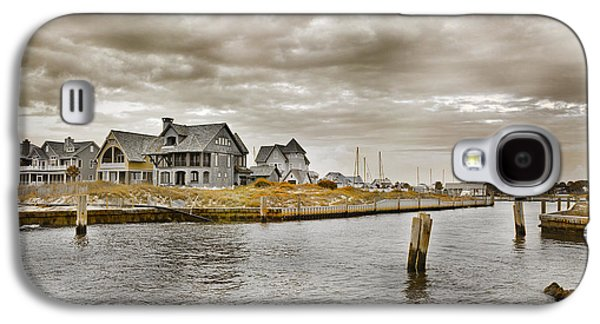 Welcome To Bald Head Island Galaxy S4 Case by Betsy Knapp
