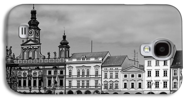 Budvar Galaxy S4 Cases - Welcome to Ceske Budejovice - Budweis Czech Republic Galaxy S4 Case by Christine Till