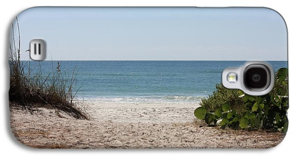 Welcome To The Beach Galaxy S4 Case by Carol Groenen