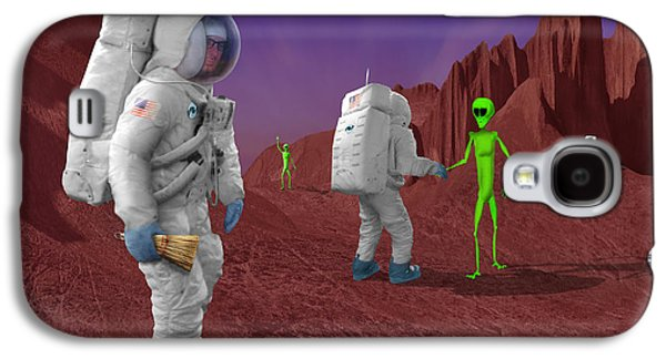 Welcome To The Future Galaxy S4 Case by Mike McGlothlen