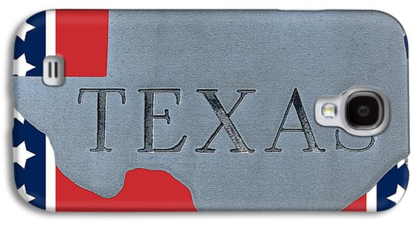 Welcome To The State Of Texas Galaxy S4 Case by Christine Till
