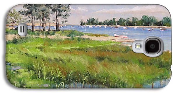 Wentworth By The Sea Galaxy S4 Case by Laura Lee Zanghetti
