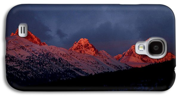 West Side Teton Sunset Galaxy S4 Case