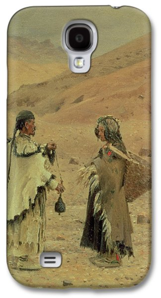 West Tibetans, 1875 Oil On Canvas Galaxy S4 Case by Piotr Petrovitch Weretshchagin