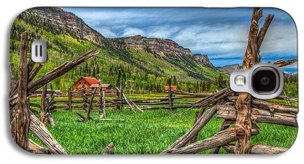 Western Solitude Galaxy S4 Case by Tom Weisbrook