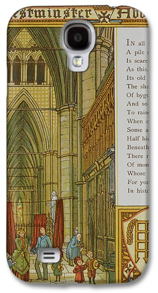 Westminster Abbey Galaxy S4 Case by British Library