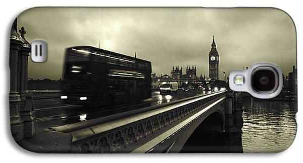 London Galaxy S4 Case - Westminster Bridge by Scott Lanphere