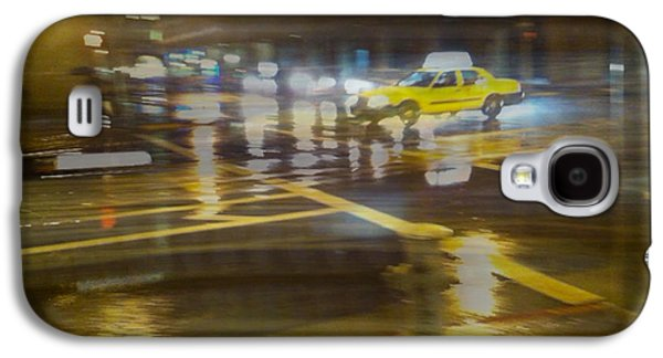 Galaxy S4 Case featuring the photograph Wet Pavement by Alex Lapidus