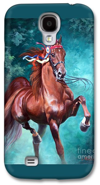 Horse Galaxy S4 Case - Wgc Courageous Lord by Jeanne Newton Schoborg
