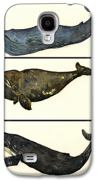 Whales Compilation 1 Galaxy S4 Case