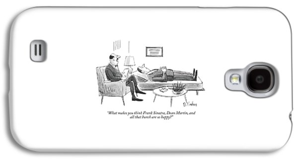What Makes You Think Frank Sinatra Galaxy S4 Case