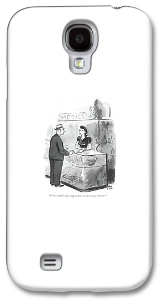 What Would You Suggest For A Young Lady Riveter? Galaxy S4 Case by Carl Rose