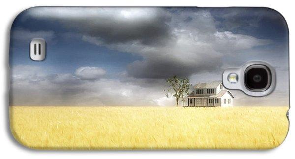 Wheat Field Galaxy S4 Case